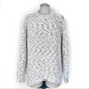 Speckled Sweater Slouch Style Size M